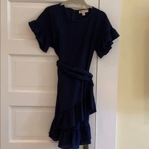 MICHAEL Navy Dress